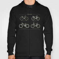 Italicycles - Bikes Made from Italic Fonts Hoody
