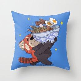 Ramen Time Throw Pillow