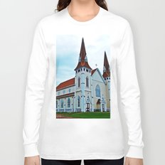Big Old Wooden Church Long Sleeve T-shirt