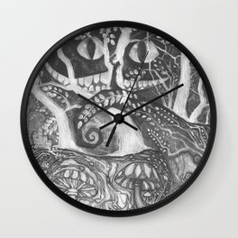 Tim Burton Wall Clock