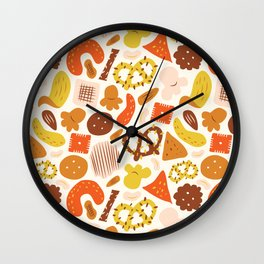 Snacks Wall Clock