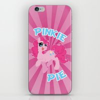 mlp iPhone & iPod Skins featuring MLP FiM: Pinkie Pie by Yiji
