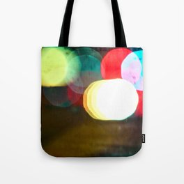 Northern California Lights Tote Bag