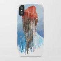 zissou iPhone & iPod Cases featuring Steve Zissou by Swancowski
