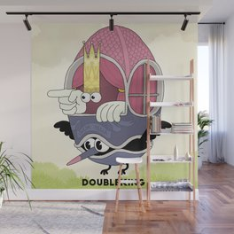 DOUBLE KING: Ovum Regia Wall Mural