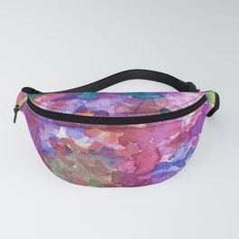 Bold Color Lilacs Fanny Pack
