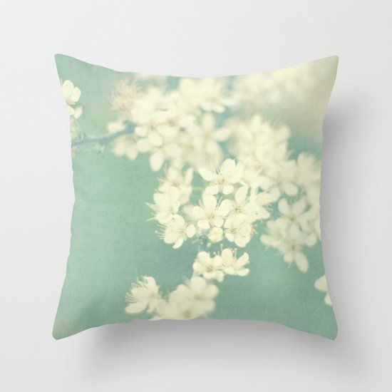 one spring day Throw Pillow