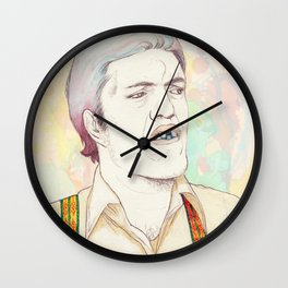 Jaws - Secondary character? Never! Wall Clock