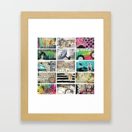 One by One Framed Art Print
