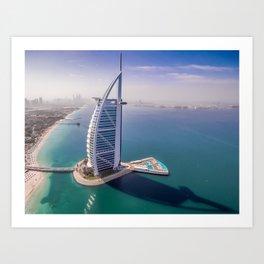 Burj A Arab Art Print