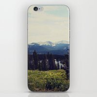 ashton irwin iPhone & iPod Skins featuring Lake Irwin by Teal Thomsen Photography