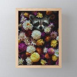 bloom with grace. Framed Mini Art Print