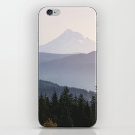 Mount Hood over the Columbia River Gorge iPhone Skin