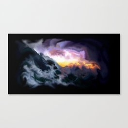 Tunnelvisions/DualLandscapeII Canvas Print
