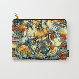 AnimalArt_Lion_20170612_by_JAMColorsSpecial Carry-All Pouch