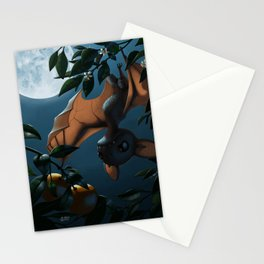 Bat Fruit Stationery Cards