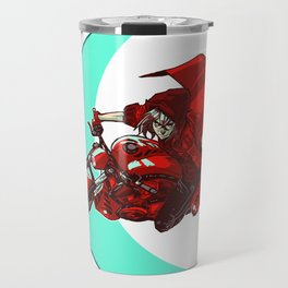 Robin and the Big Bad Wolf Travel Mug