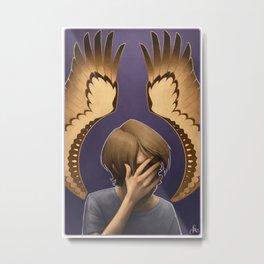 Animorphs: Tobias Metal Print