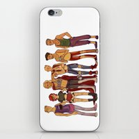 cargline iPhone & iPod Skins featuring dirty hipster au by cargline