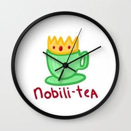 Nobili-TEA Wall Clock