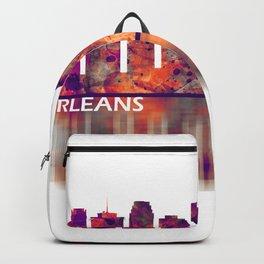 New Orleans Louisiana Skyline Backpack