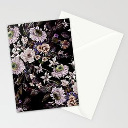 Midnight Garden VI Stationery Cards