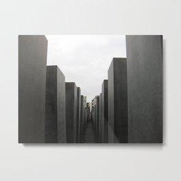 Holocaust Memorial, Berlin #1 Metal Print