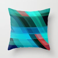 discount Throw Pillows featuring Breaking through by Roxana Jordan