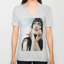 Pete Burns Unisex V-Neck