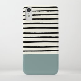 River Stone & Stripes iPhone Case