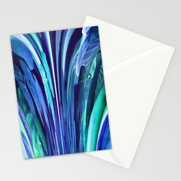 512 - Abstract plant design Stationery Cards