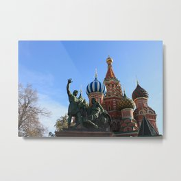 Saint Basil's Cathedral, Moscow Metal Print