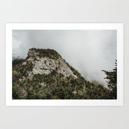 Calloway Peak Art Print