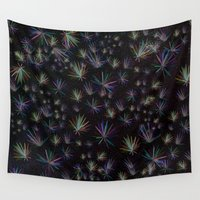 fireworks Wall Tapestries featuring Fireworks by Djuliansjah