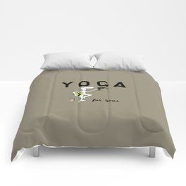 Yoga for Guys Comforters