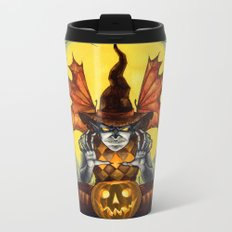 From the Dust to the Grave Metal Travel Mug