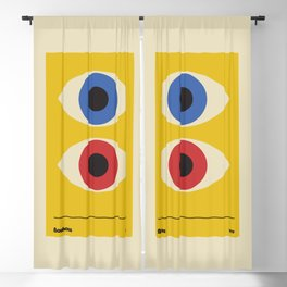 Bauhaus 1919 old remastered high resolution poster Blackout Curtain