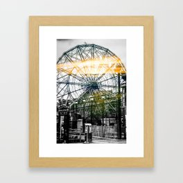 Sun Dial Framed Art Print