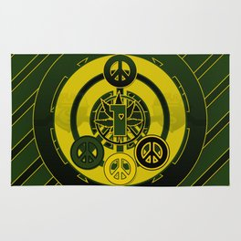 One Love (Green) Rug