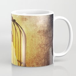lightbulb in cage Coffee Mug