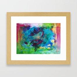Life is a beautiful mess Framed Art Print