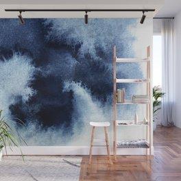 Indigo Nebula Wall Mural