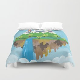 Flight of the Wild Duvet Cover