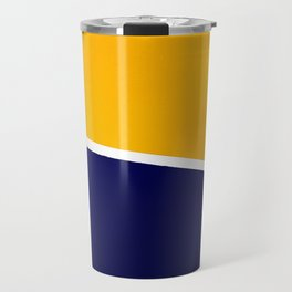 Euclid's 17th Definition, revised. Travel Mug