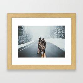 Wanderess Framed Art Print