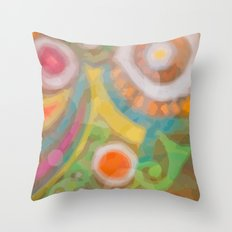 something creative Throw Pillow