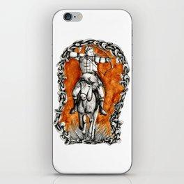 The fair huntsman iPhone Skin