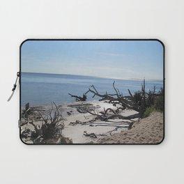 The Boney Trees on the Beach Laptop Sleeve