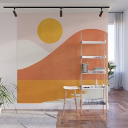 Abstraction_SEASIDE Wall Mural