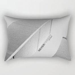 September 11 Tribute - Never Forget - World Trade Center Rectangular Pillow